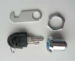 4 x Cabinet, Locker, Furniture 20mm Locks with 2 Keys