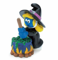 WITCH HALLOWEEN SMURF from 2006 by SCHLEICH THE SMURFS - 20547