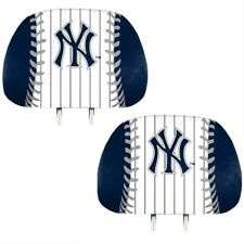 New York Yankees 2-Pack Color Print Auto Car Truck Headrest Covers