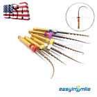 X-Pro Gold Taper NITI Endo Rotary Files Endodontic Files 6pcs EASYINSMILE [USA] <br/> 25MM, F1 /F2 /F3 /SX /S1 /S2 /Assorted Available, FDA