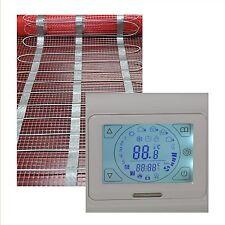 elektrische Fußbodenheizung 18 qm + Touch Screen Regler HB Blanc 91-TS