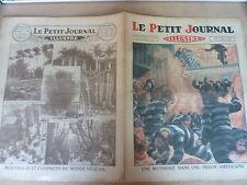 PETIT JOURNAL- 1931  N° 2101 mutinerie prison USA / curiosités végétales