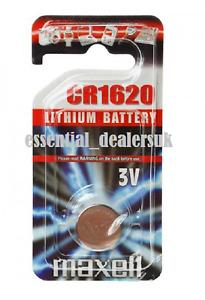 NEW Maxell 1620 DL1620 CR1620 ECR1620 3v Battery Coin Cell Longest Expiry