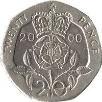 1982-2016 UK GB DECIMAL 20P TWENTY PENCE COINS - SELECT DATES FROM LIST
