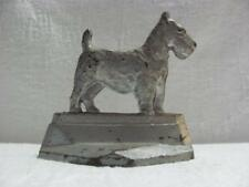 """Cast Iron Scottie Dog Doorstop or Bookend Connecticut Foundry 1929 """"Scotty"""""""