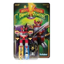 "Super7 Mighty Morphin Power Rangers Megazord 6"" Action Figure"