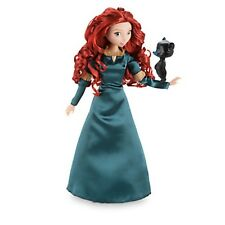 "Brave Princess MERIDA w BEAR CUB Classic Doll Toy Action Figure 12"" Disney Store"