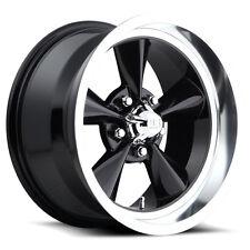 """Staggered US Mags U107 Standard 17x7,17x8 5x4.75"""" +1mm Gloss Black  Wheels Rims"""