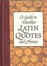 Nota Bene: A Guide to Familiar Latin Quotes and Phrases Robin Lan