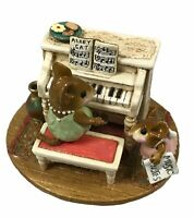 "Wee Forest Folk ""His Music Lesson""   Retired M 282a. 2002 to 2013 Collectible"