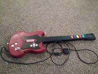 PS2 Guitar Hero Gibson Red Octane SG Wired Controller Guitar Tested Works PSLGH
