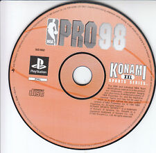 Konami NBA Pro 98 Sony PS1 Game PlayStation 1 Spiel Pal