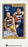 2010 AFL Herald Sun Trading Cards Best & Fairest BF7 Ablett/Enright (Geelong)