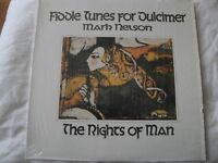 MARK NELSON FIDDLE TUNES FOR DULCIMER THE RIGHTS OF MAN VINYL LP ALBUM 1980 EX