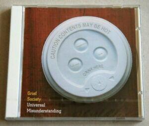 GRIEF SOCIETY - UNIVERSAL MISUNDERSTANDING 12 TRACK CD ALBUM (NEW & SEALED)