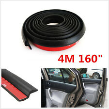 "Weatherstrip Z-shape Car SUV Door Rubber Weather Seal 4M 13FT 160"" Hollow Strip"