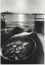 Coins found in sunken ship Vintage silver print Tirage argentique  20x30