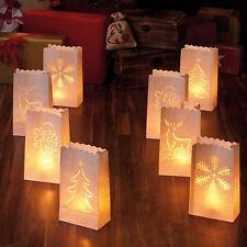 8 LUMINARIA Tütenlicht Tüten Licht Lichtertüten Stimungslaternen Laternen Papier
