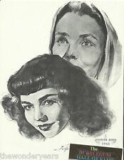 Jennifer Jones The Song of Bernadette 1962 Film Star Portrait Print