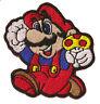 Patch écusson patche Mario jeux videos brodé hotfix thermocollant