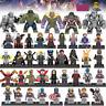 Lego Marvel Avengers Minifigure Iron Man Thanos Wonder Woman Venom DC Figures