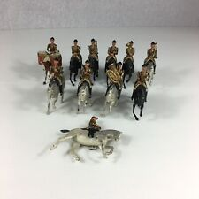 Vintage Britains Lead Life Guards Band Part Set 11 Pieces From Set 9406