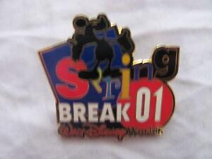 Disney Trading Pins 4342 WDW Spring Break 2001