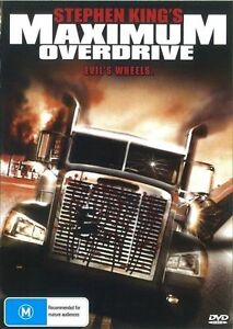 Maximum Overdrive DVD Stephen King New and Sealed Australian Release