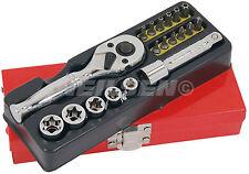 20pc E socket set star hex philips 10 E12 E14 E16 T8 T10 T15 T20 T25 T27 T30 T40