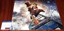 Matt Smith & Jenna Coleman Signed 11x14 Doctor Who Clara PSA/DNA