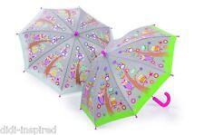 Arbol Buho & Cambio de Color Paraguas por hilo dental y rock para niños niños