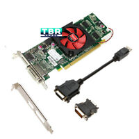 AMD ATI Radeon HD 6450 1GB Win10 DDR3 DVI DisplayPort FH Dell Video Graphic Card