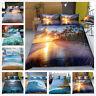 3D Beach Sunshine Ocean Wave Quilt/Duvet/Doona Cover Bedding Set Pillowcase