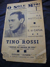 Partition O sole Mio Tino Rossi Music Sheet