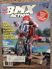 Bmx Action magazine January 1985 Vintage Old School Nbl Season Finale