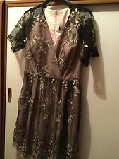 LITTLE MISTRESS, STUNNING New with tags PartyWedding  Dress, size uk 10