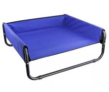Heavy Duty Elevated Walled Dog Bed 70 X 70 X 28cm Medium Pet Bed