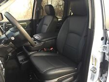 2013 DODGE RAM CREW CAB BLACK KATZKIN LEATHER SEAT COVER SOLID REAR SEAT