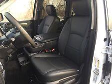 2013-2017 Dodge Ram Crew Cab Katzkin Black Leather Kit Jump Seat 2pc