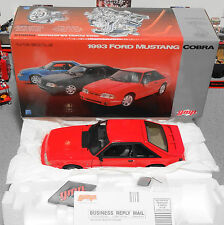 GMP 1993 Ford Mustang Cobra Red 1:18 Diecast Fox - Very Rare (Car & Box Only)