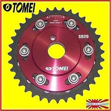 TOMEI ADJUST CAM GEAR PULLEY CAMSHAFT NISSAN SILVIA 180SX 200SX S13 S14 S15 SR20