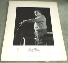 1946 Advertising Mock-Up Conductor Fritz Reiner, Signed by Photographer Dorsey