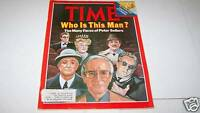 MARCH 3 1980 TIME MAGAZINE - PETER SELLERS