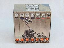 History Channel   WORLD WAR II: THE WAR CHRONICLES  7 VHS Box Set   A & E 1983