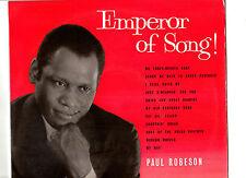 "PAUL ROBESON.EMPEROR OF SONG.UK ORIG 10"" LP+INN/SL.EX/EX+"