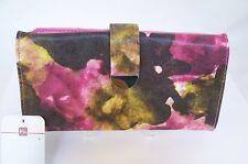 Mundi Mullticolor Vinyl Fabric Checkbook Womens Wallets