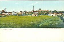 Proskau / Schlesien, Gesamansicht m. illstr. Rückseite