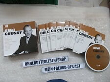 CD JAZZ Bing Crosby - 10cd Set (249) canzone MCPs