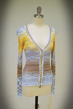 MISSONI M Cardigan Sweater Size 4/5/6 Made in Italy