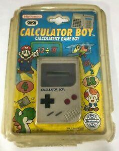 CALCULATOR BOY Original TM Nintendo 1993 Game Boy vintage game NEW GIG  MOC